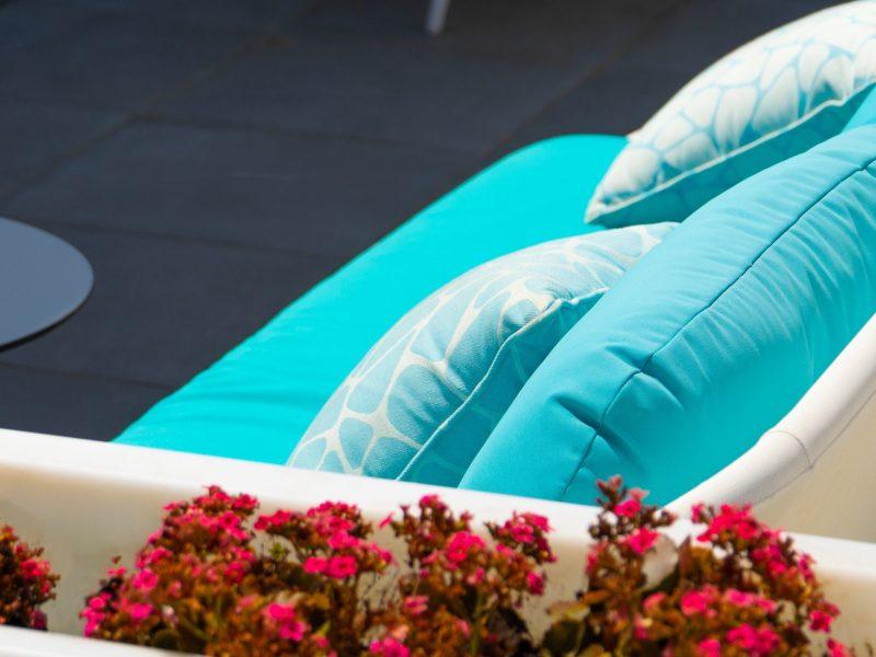 Hotel Apartamento Playa de la Plata - Terraza