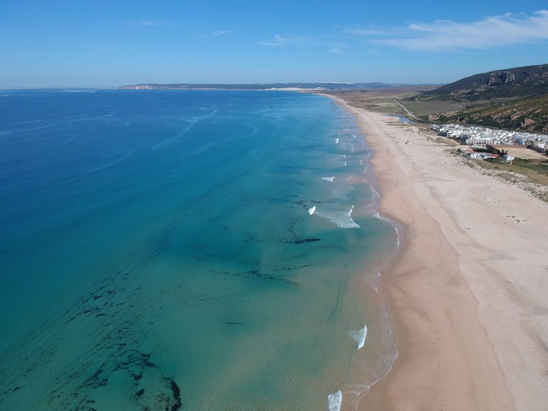 Hotel Playa de la Plata - Zahara de los Atunes - Playa vista aérea